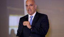 Ministro da Justiça, Alexandre de Moraes.